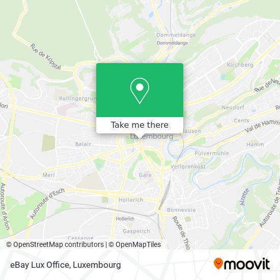 eBay Lux Office map