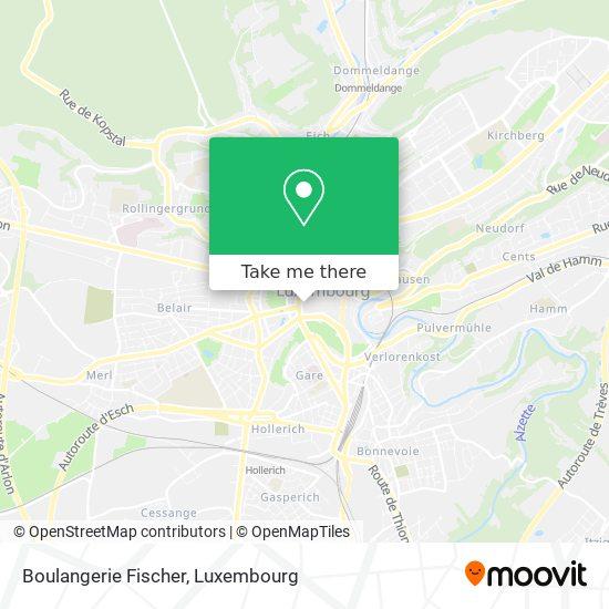 Boulangerie Fischer map