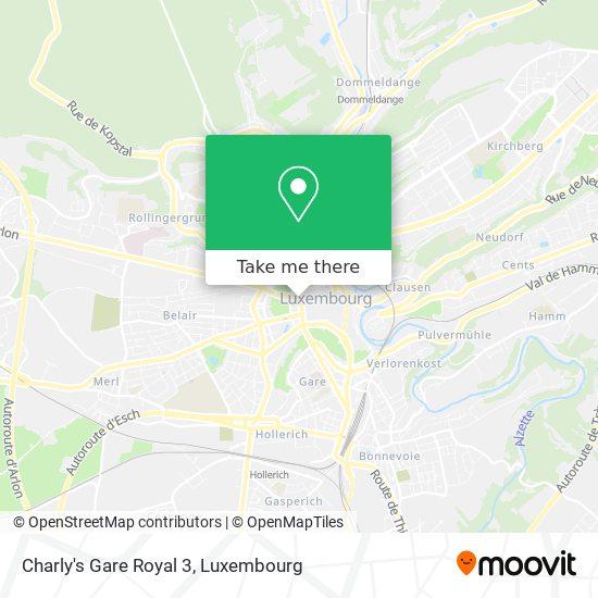 Charly's Gare Royal 3 map