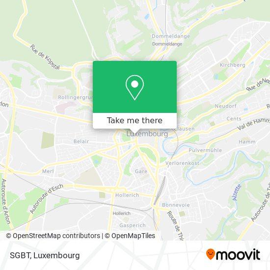SGBT map