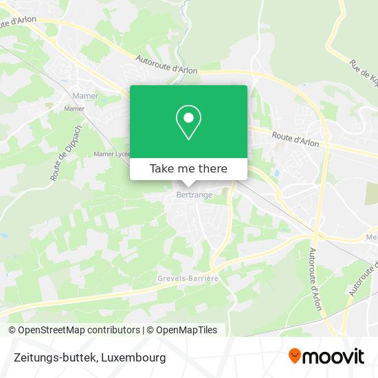 Zeitungs-buttek Karte