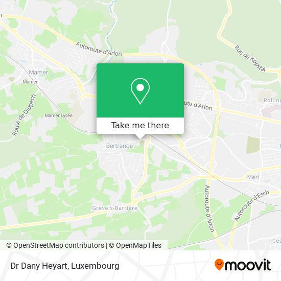 Dr Dany Heyart map