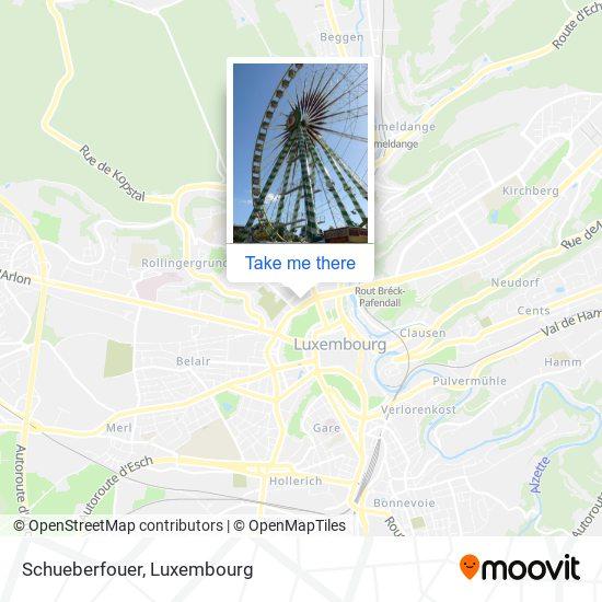 Schueberfouer map