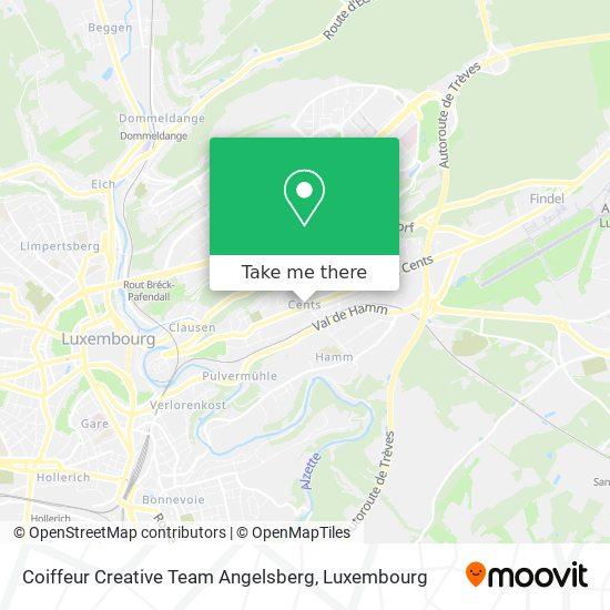 Coiffeur Creative Team Angelsberg map