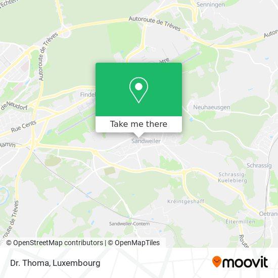Dr. Thoma map