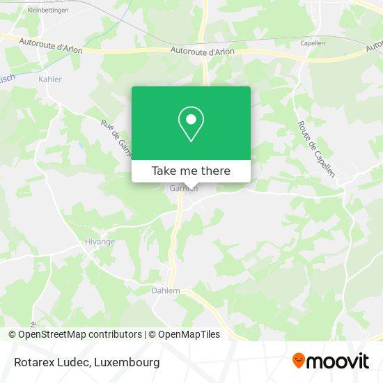Rotarex Ludec map