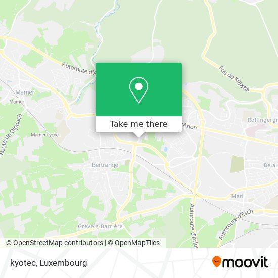 kyotec map