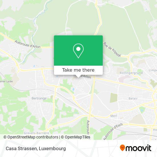 Casa Strassen map