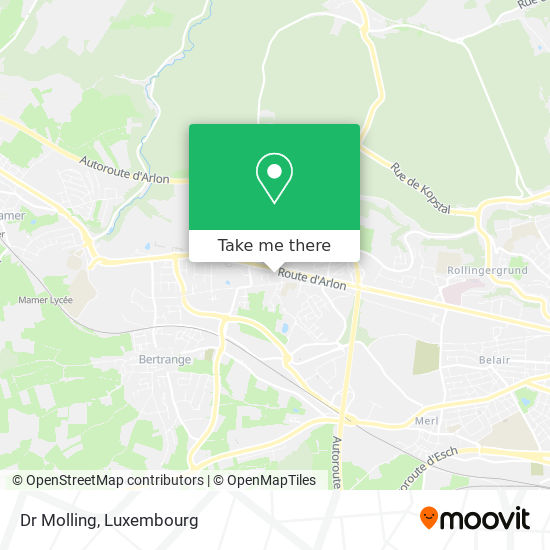 Dr Molling map