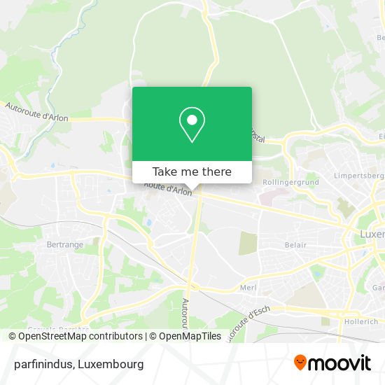 parfinindus map