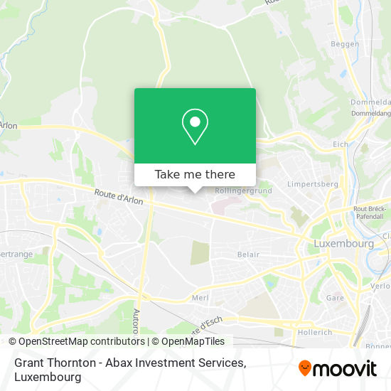 Grant Thornton - Abax Investment Services map