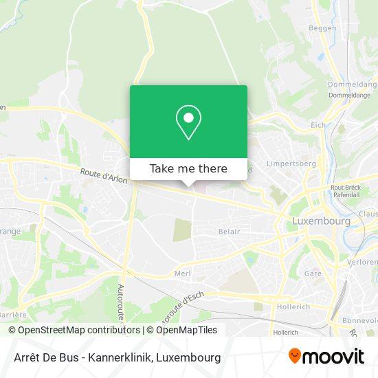 Arrêt De Bus - Kannerklinik map