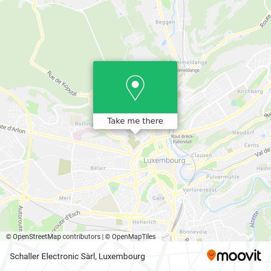 Schaller Electronic Sàrl map