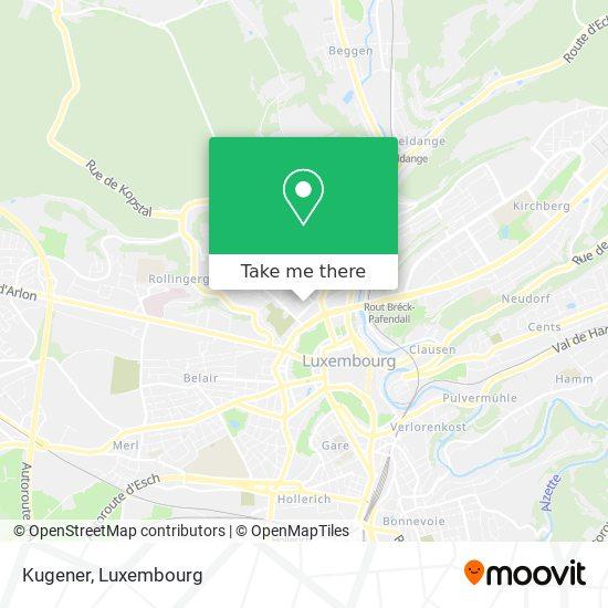 Kugener map