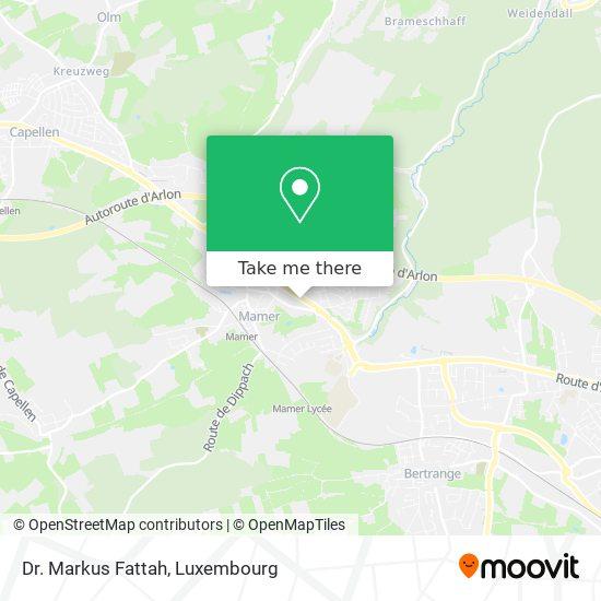 Dr. Markus Fattah map