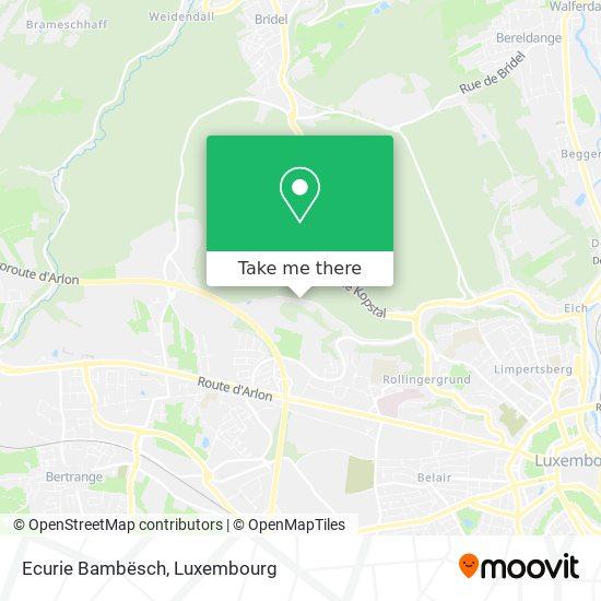 Ecurie Bambësch map
