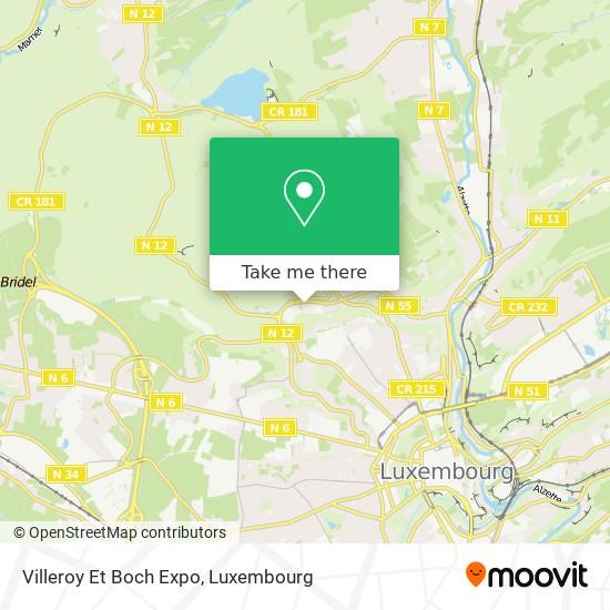Villeroy Et Boch Expo map