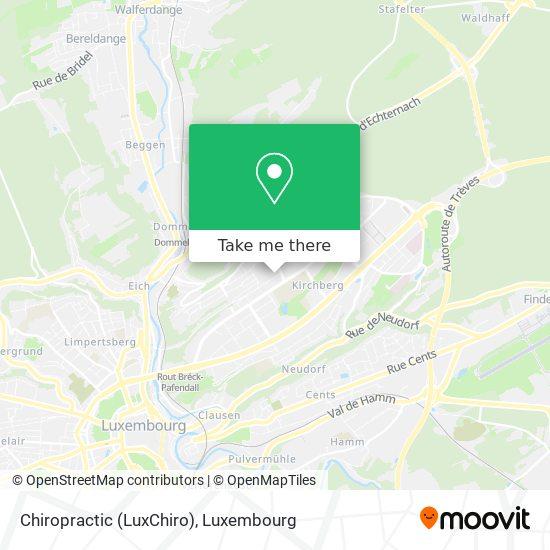 Chiropractic (LuxChiro) map