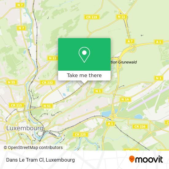 Dans Le Tram Cl map