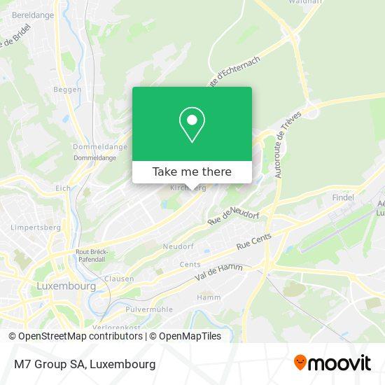 M7 Group SA map