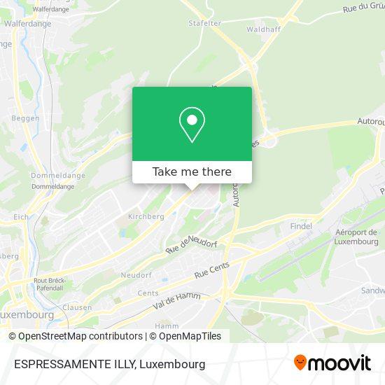 ESPRESSAMENTE ILLY map