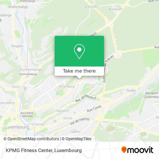 KPMG Fitness Center map