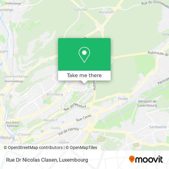 Rue Dr Nicolas Clasen map
