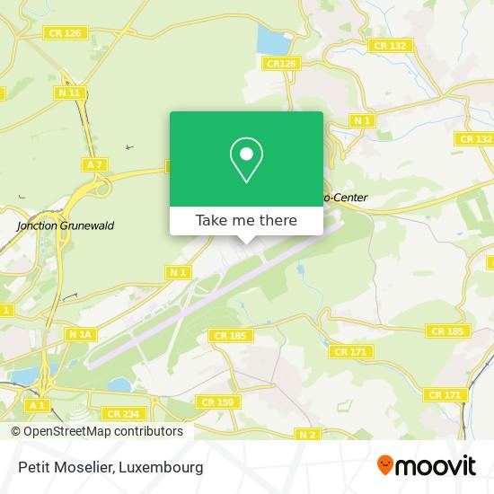 Petit Moselier map