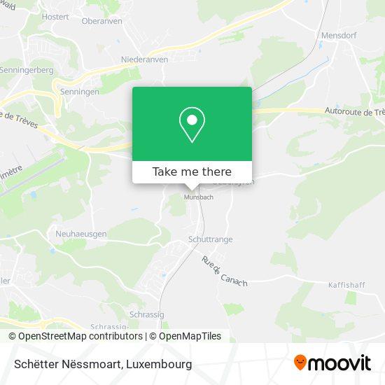 Schëtter Nëssmoart map