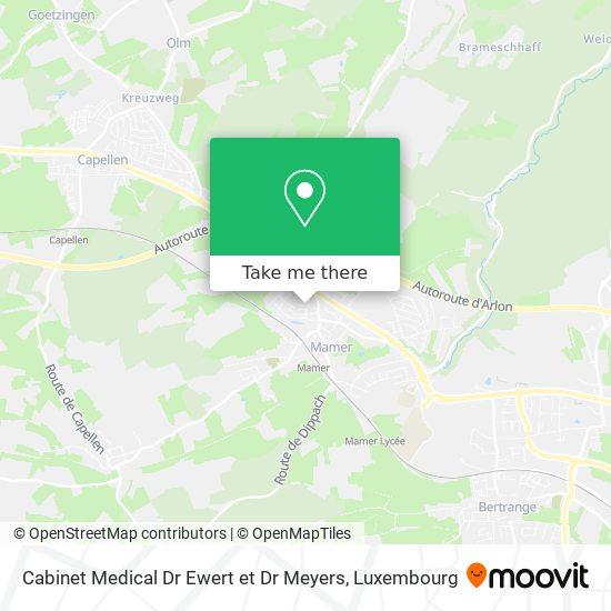 Cabinet Medical Dr Ewert et Dr Meyers map