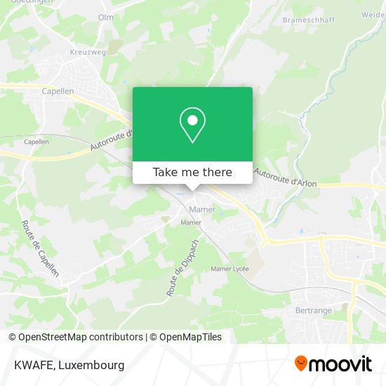 KWAFE map