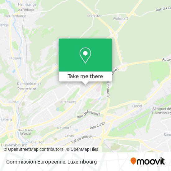 Commission Européenne map