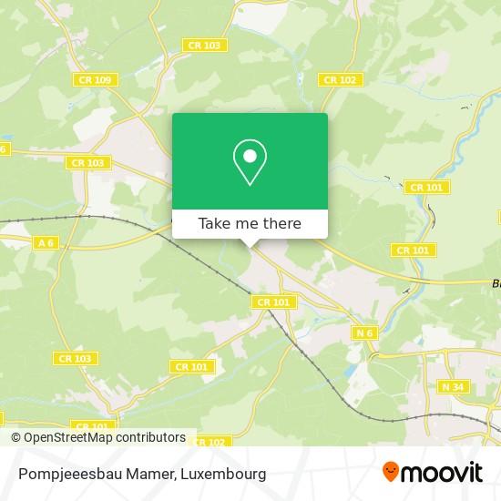 Pompjeeesbau Mamer mapa