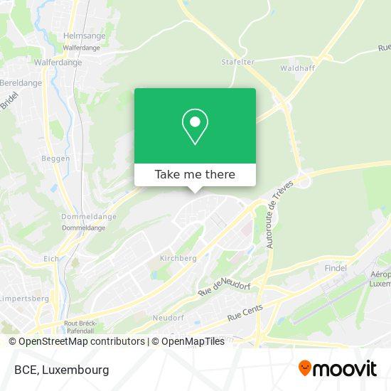 BCE map