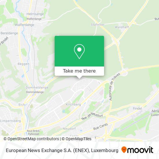 European News Exchange S.A. (ENEX) map