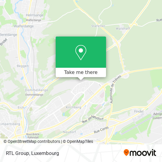 RTL Group map