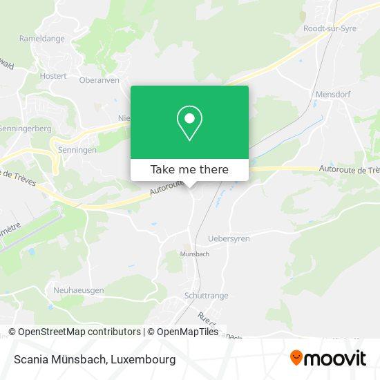 Scania Münsbach map