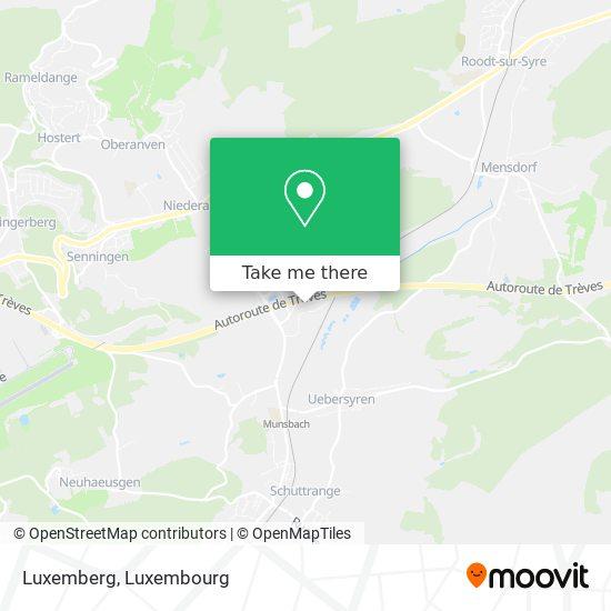 Luxemberg map