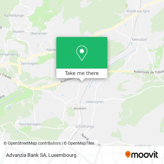 Advanzia Bank SA map