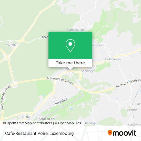 Café-Restaurant Poiré map