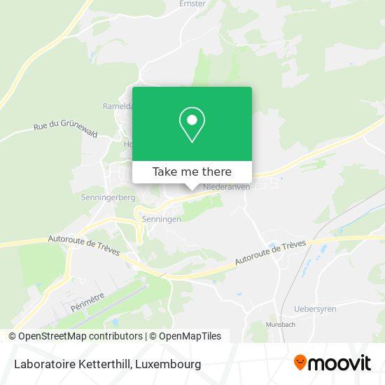Laboratoire Ketterthill map