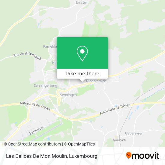 Les Delices De Mon Moulin map