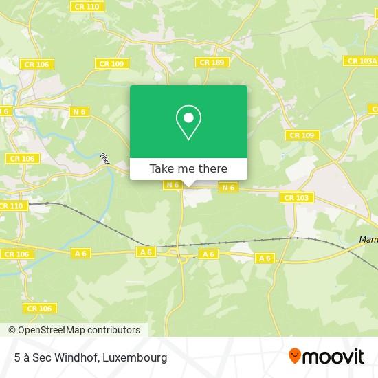 5 à Sec Windhof map