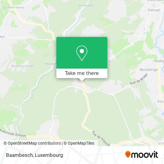 Baambesch Karte