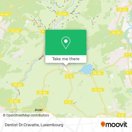 Dentist Dr.Cravatte map