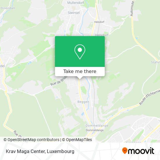 Krav Maga Center map
