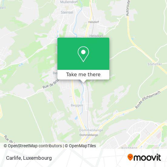Carlife map