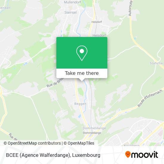 BCEE (Agence Walferdange) map