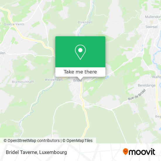 Bridel Taverne map