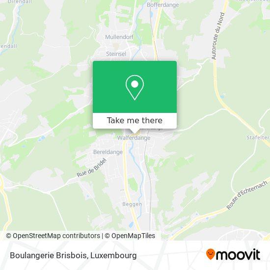 Boulangerie Brisbois map